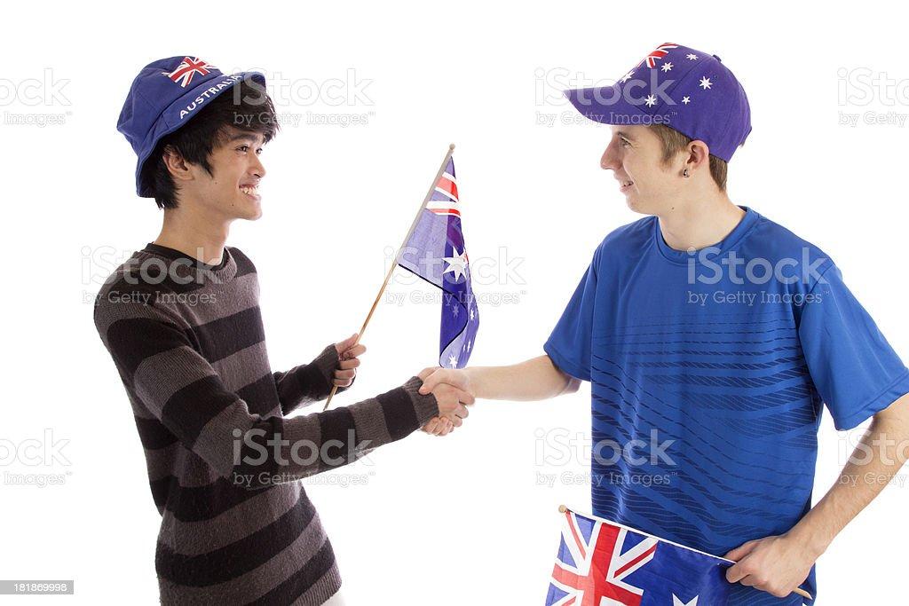 Welcome To Australia royalty-free stock photo