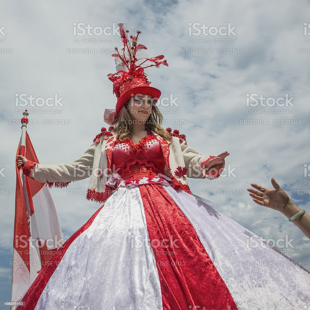 Welcome to Canada royalty-free stock photo