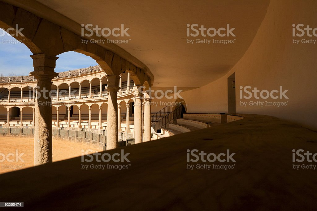 welcome to corrida royalty-free stock photo