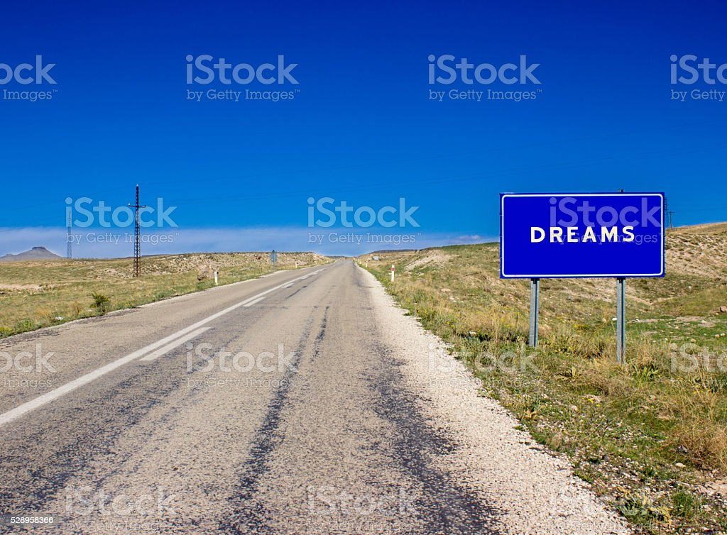 Welcome to Dreams! stock photo