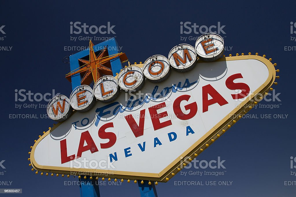 Welcome To Fabulous Las Vegas Sign, Gambling, Vegas-Strip, Nevada royalty-free stock photo