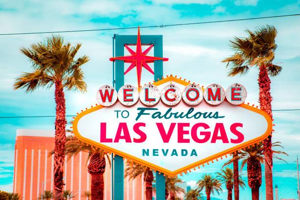 Welcome to Fabulous Las Vegas unterzeichnen, Strip in Las Vegas, Nevada, USA – Foto
