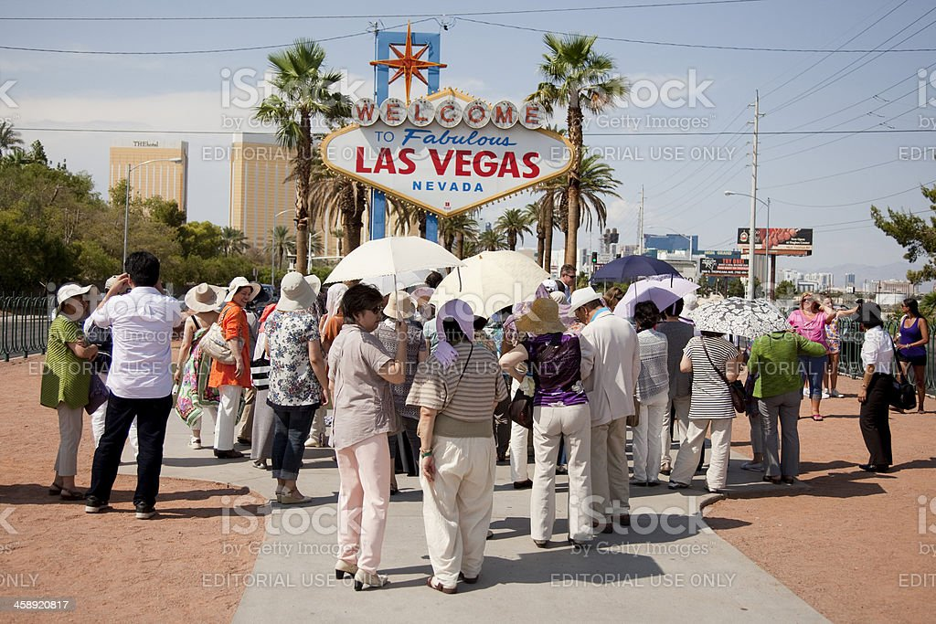 Welcome to Fabulous Las Vegas sign royalty-free stock photo