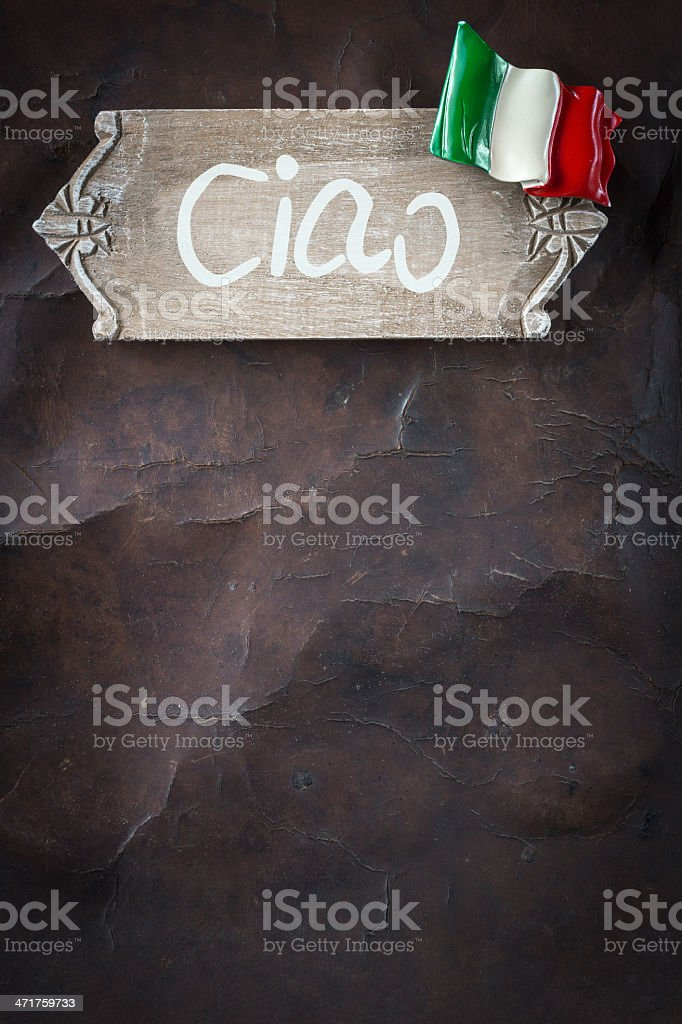 Welcome to Italy royalty-free stock photo