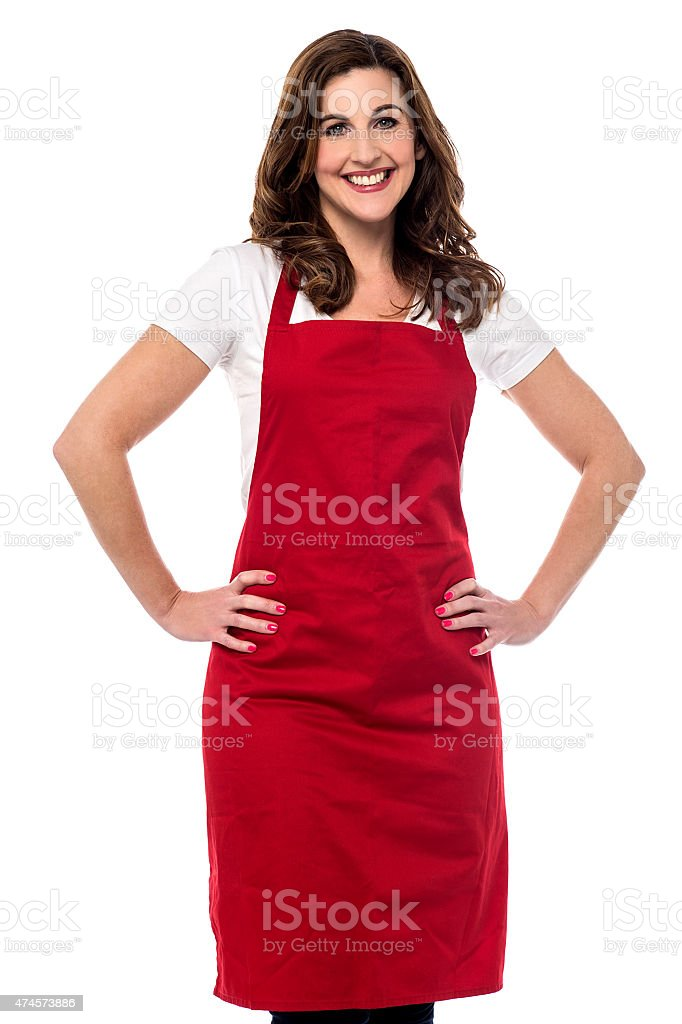 Welcome to my new restaurant. stock photo