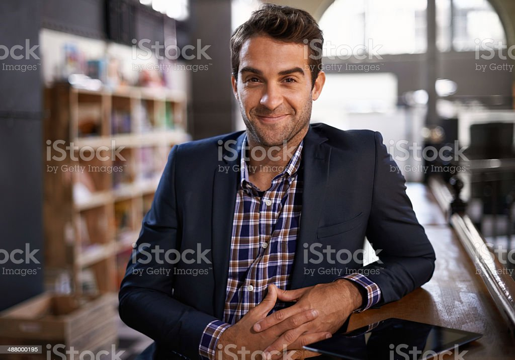 Welcome to my pub stock photo