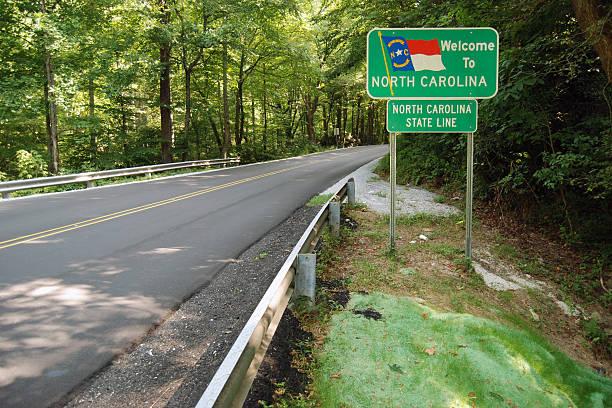 Bienvenida a Carolina del Norte - foto de stock