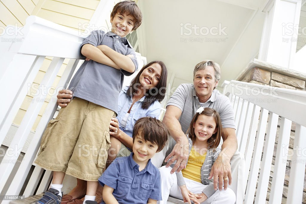 Welcome to our wonderful home royalty-free stock photo