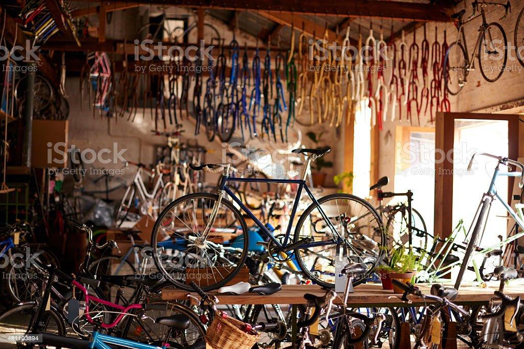 Willkommen bei dem Fahrrad-workshop – Foto