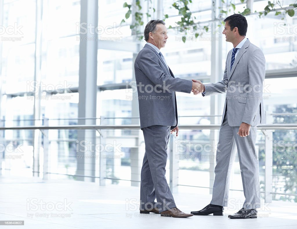 Welcome to the company royalty-free stock photo