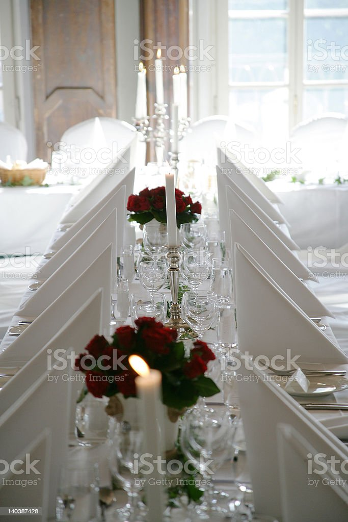 Welcome to the dinner royalty-free stock photo