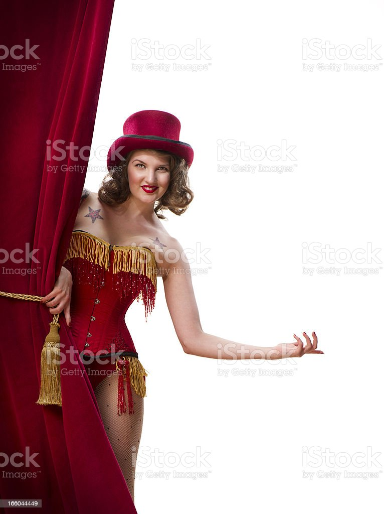 welcome to the show royalty-free stock photo