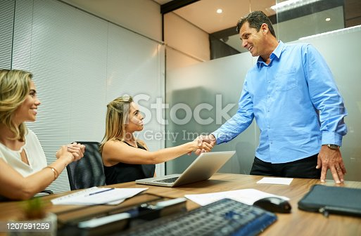 541976840 istock photo Welcome to the team 1207591259