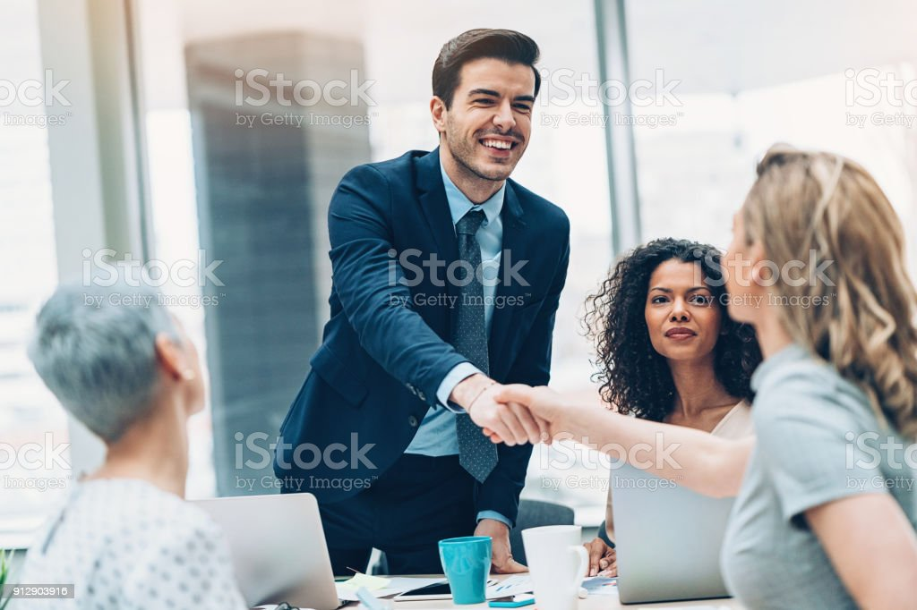 Welcome to the team stock photo