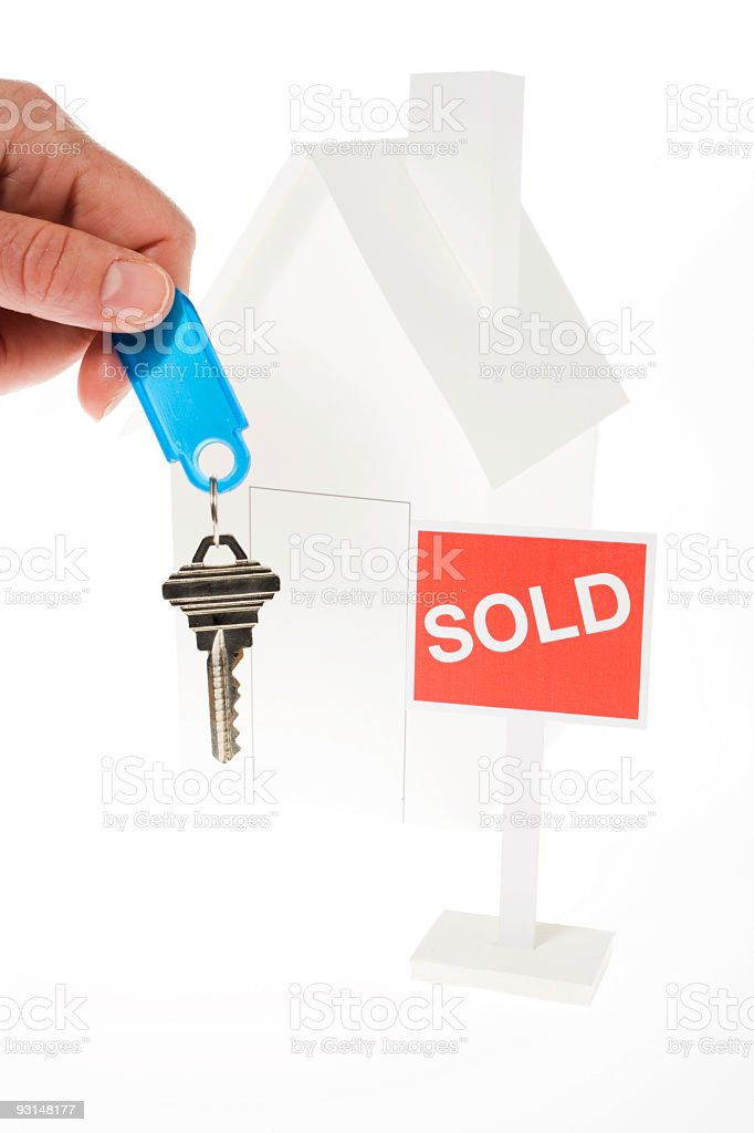 Welcome to your new house royalty-free stock photo