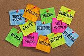 istock welcome, willkommen, bienvenue, aloha, ... 146898274