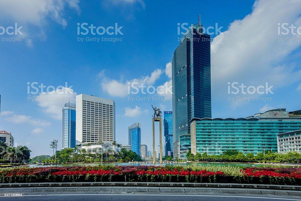 Welcoming monument of Jakarta Indonesia - Photo