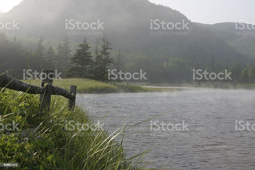 welcoming river stock photo
