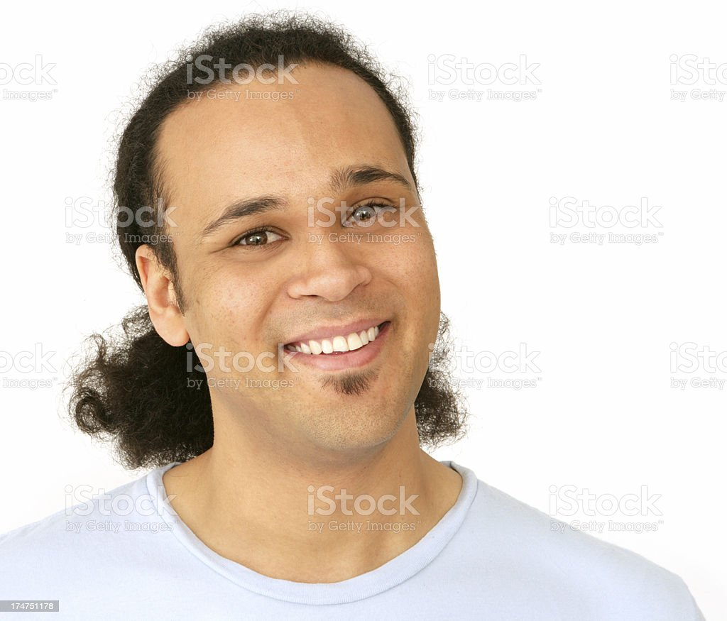 Welcoming Smile stock photo