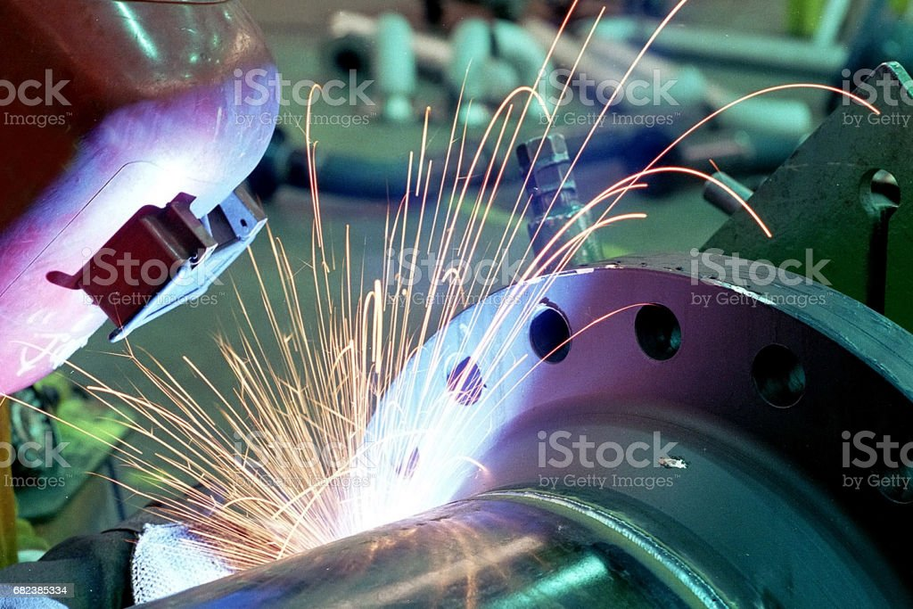 Welder foto stock royalty-free
