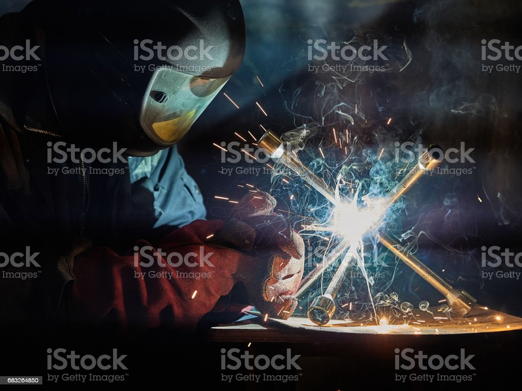 Welder. royalty-free stock photo