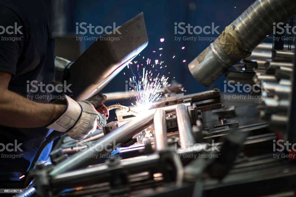 Welding Metal royalty-free stock photo