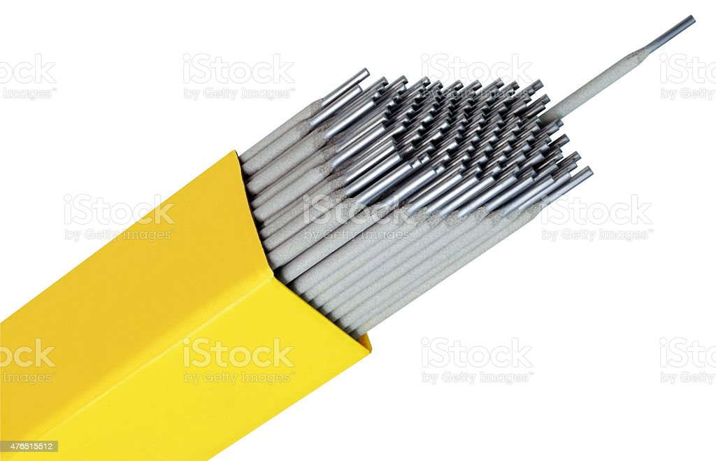 Welding Pegs stock photo