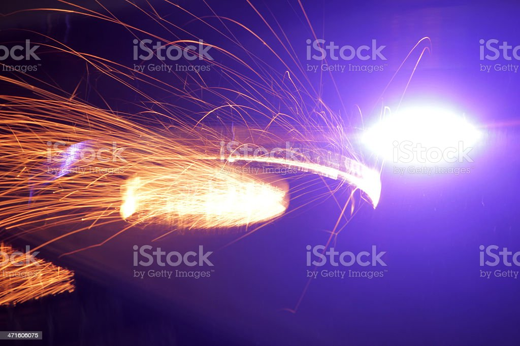 Welding royalty-free stock photo