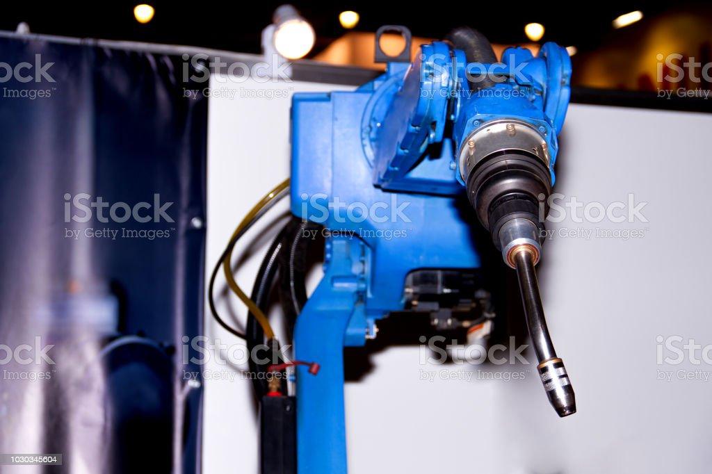 Welding Plasma Kuka Robot Hand Stock Photo & More Pictures