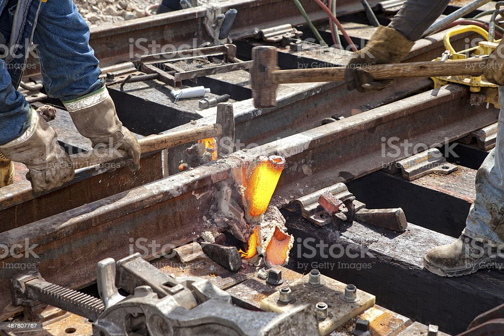 Welding Process stock photo