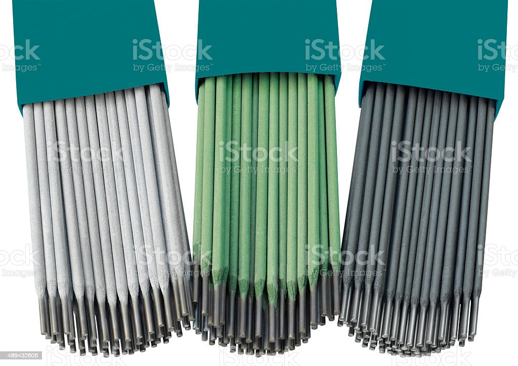 Welding Rods stock photo