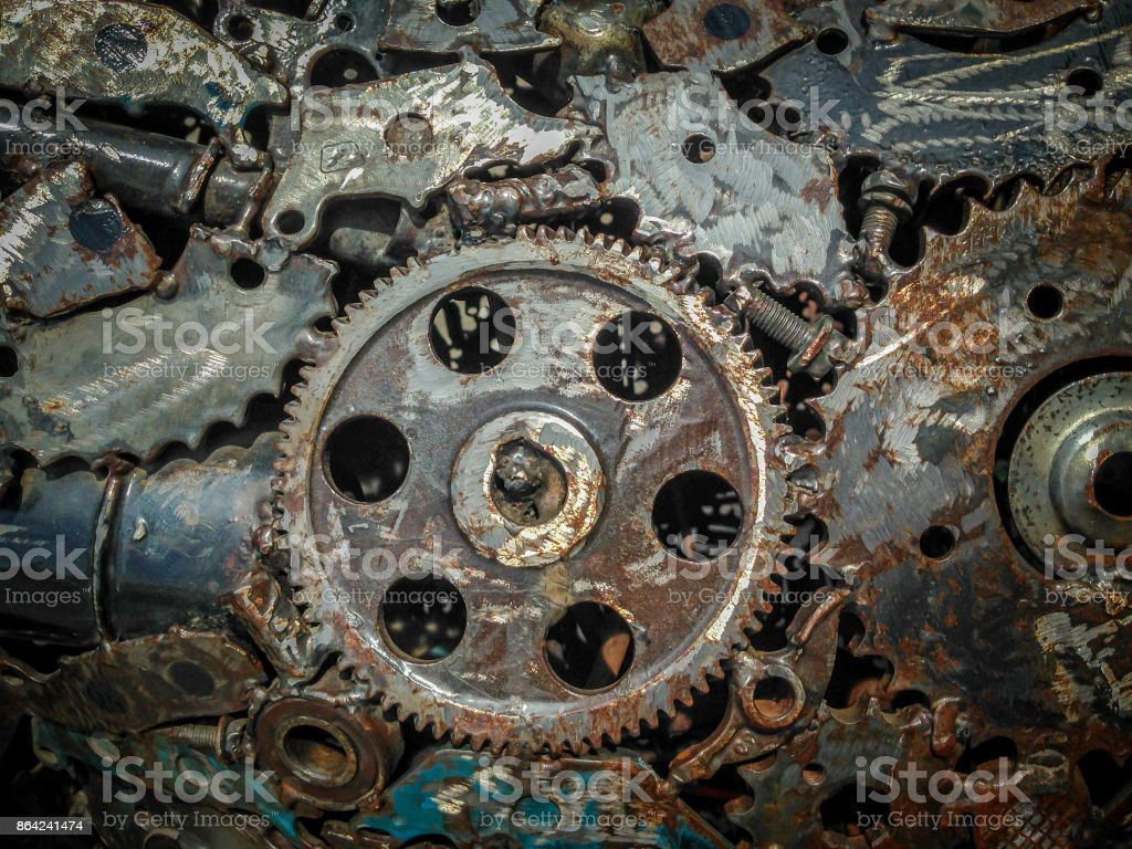 welding seam metal background royalty-free stock photo