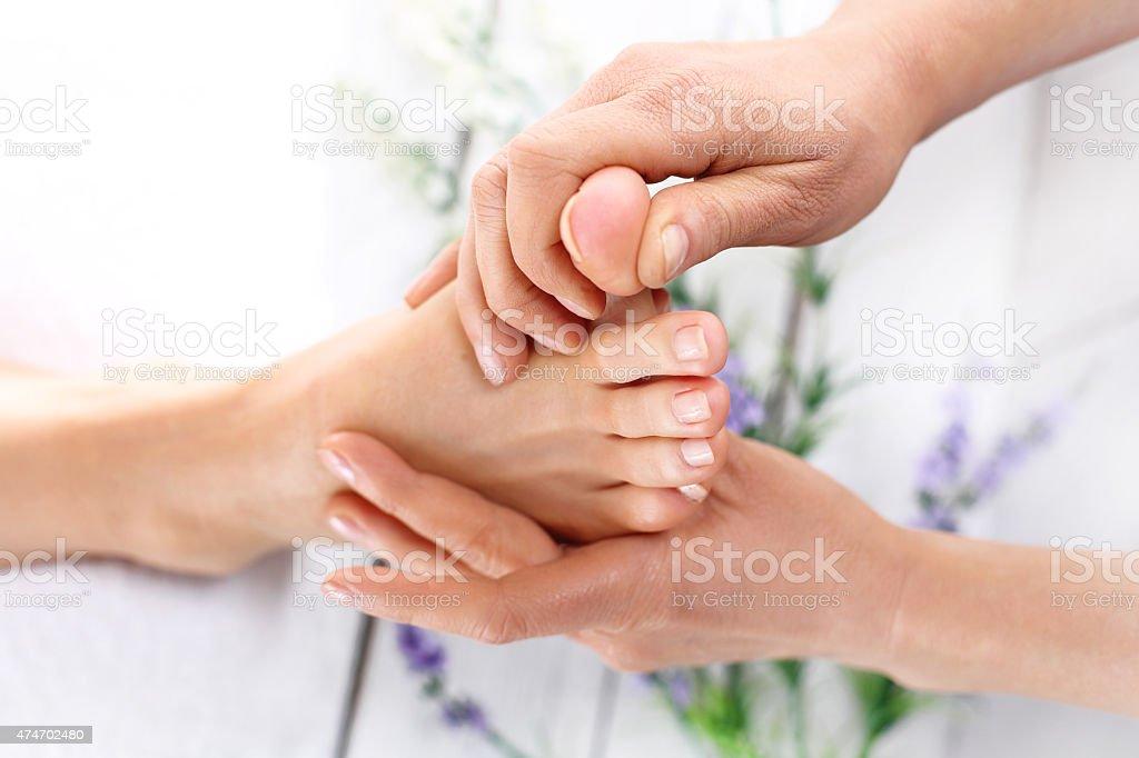 Gut umsorgt Füße – Foto