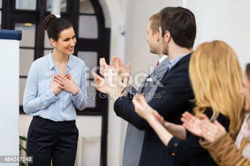 590048454 istock photo Well deserved applause 484247248