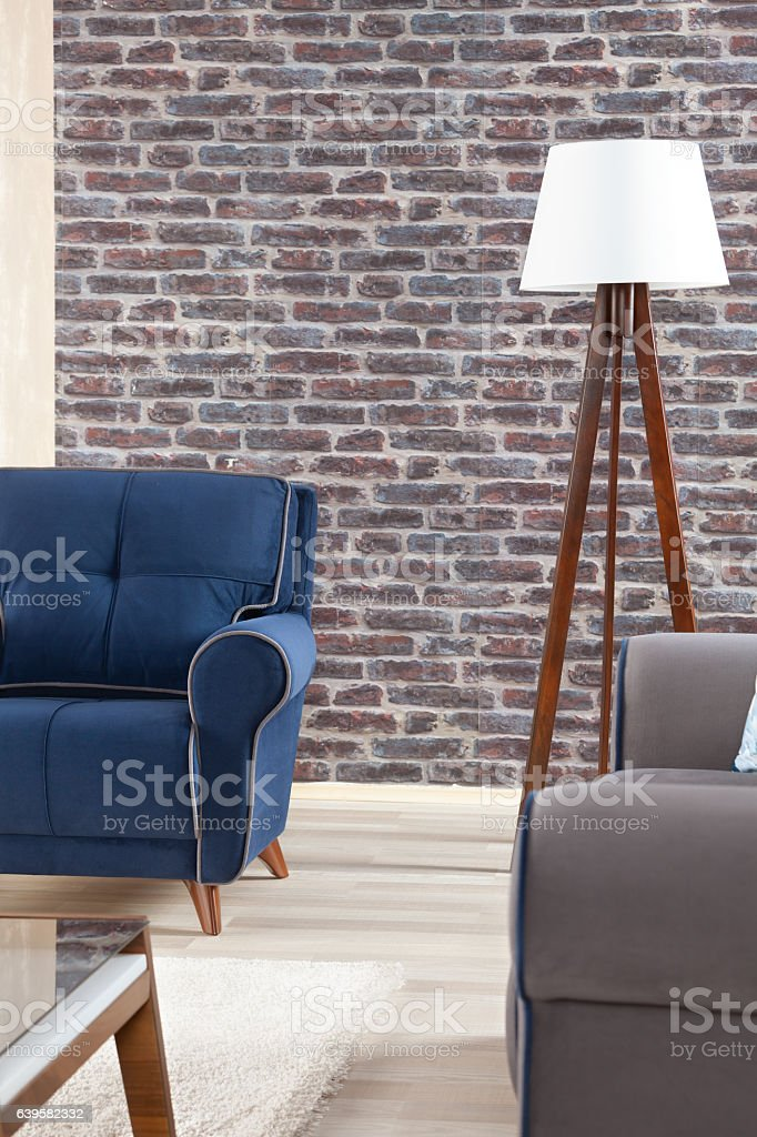Well Designed Living Room stock photo