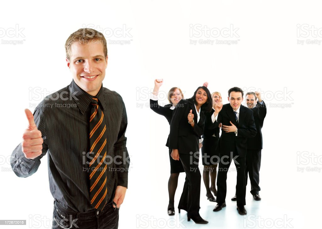 We'll do it! royalty-free stock photo