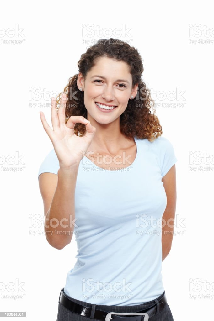Well done! stock photo