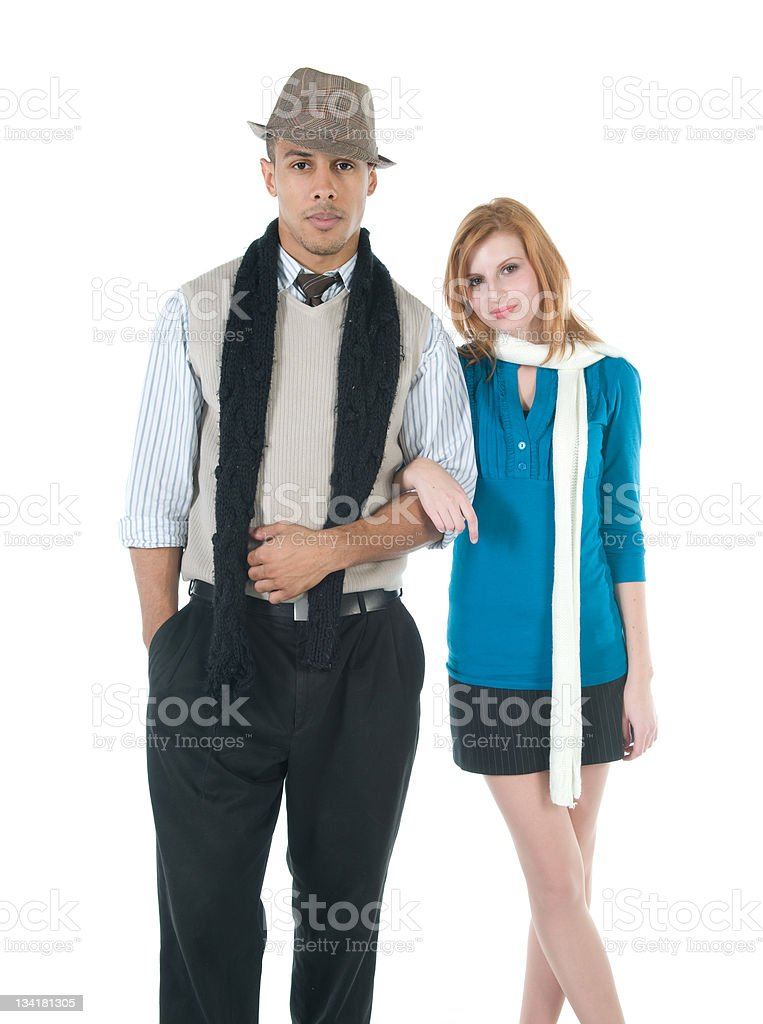 Well Dressed Couple stock photo