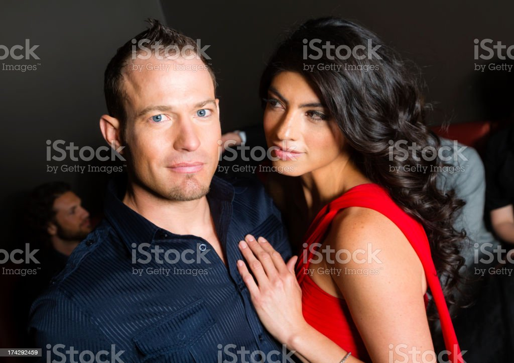 Well Dressed Couple royalty-free stock photo