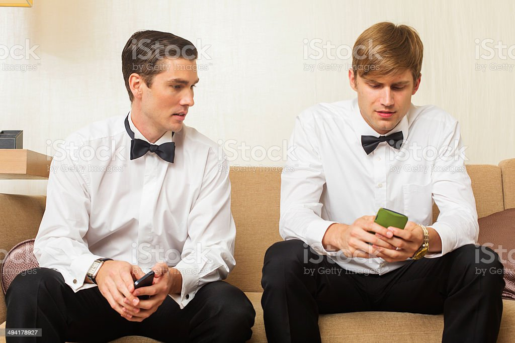 Well Dressed Men royalty-free stock photo