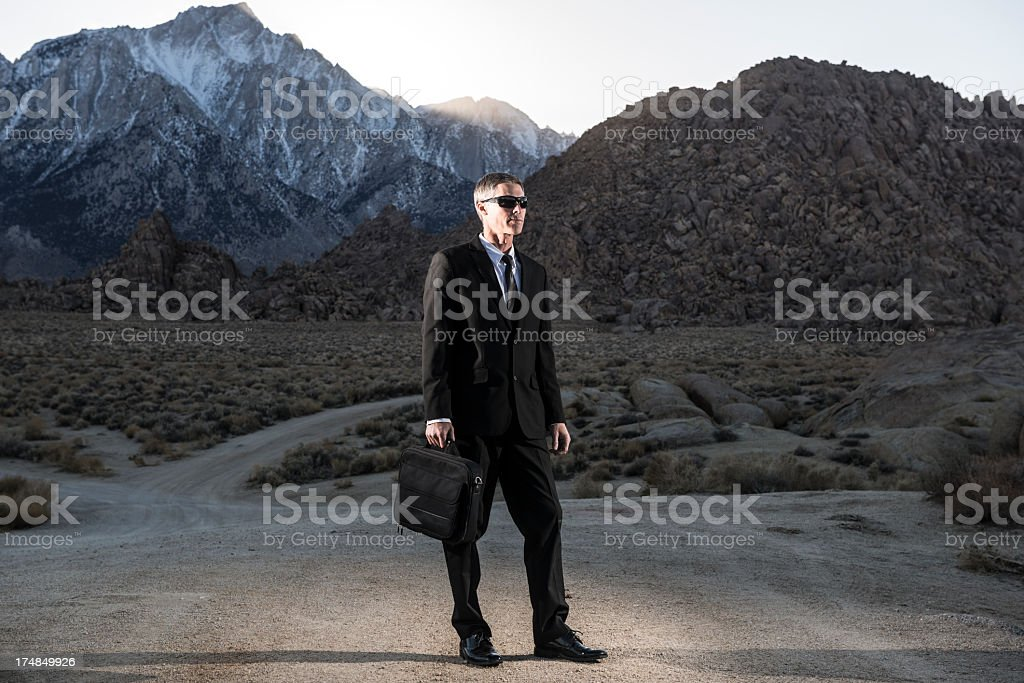 well dressed royalty-free stock photo