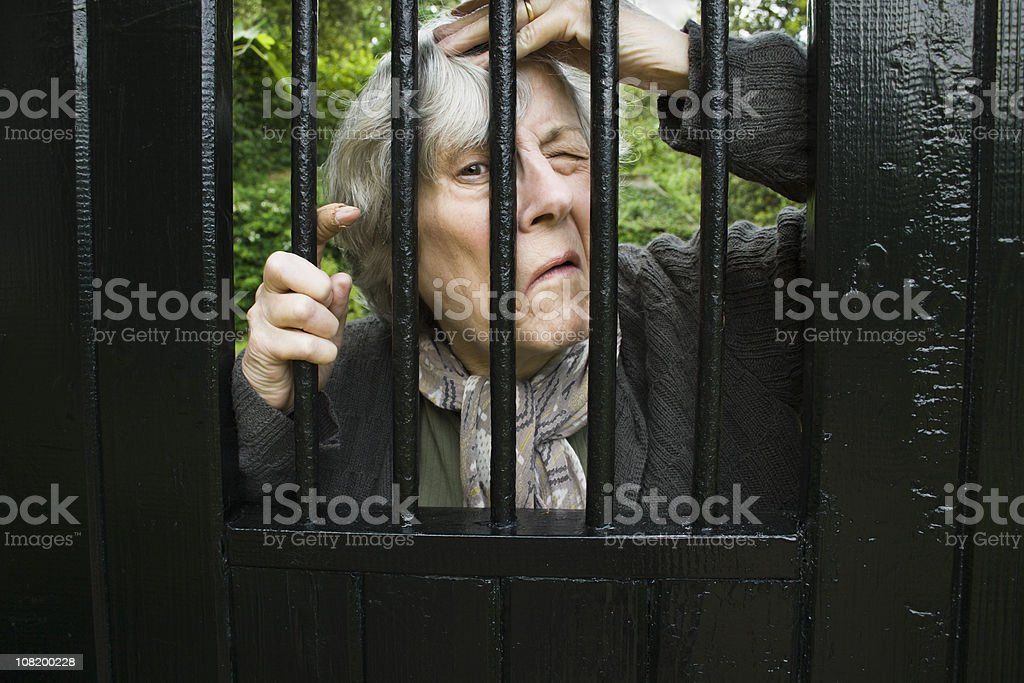 'Well I Can't Quite See .........' royalty-free stock photo