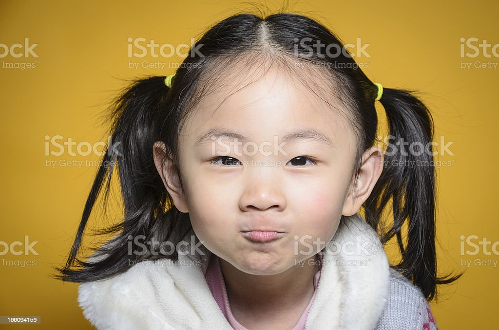 Well, I was angry royalty-free stock photo