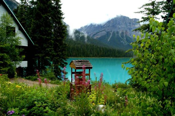 Un puits à lakeside, - Photo