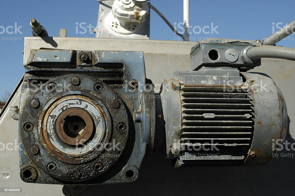 Well Loved Motor royalty-free stock photo