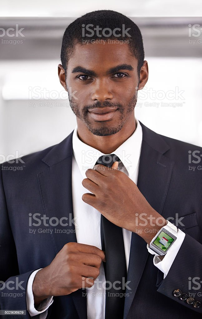 Well prepared for business stock photo