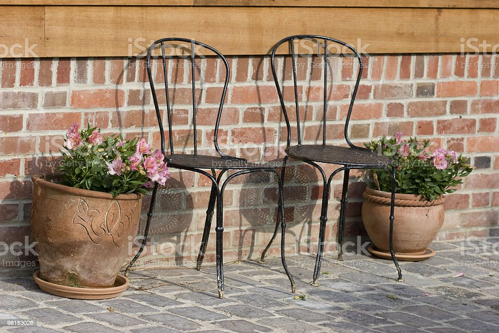 wellcome chairs royalty-free stock photo