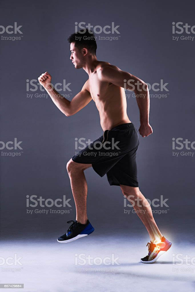 Well...he woulda been off to a flier stock photo
