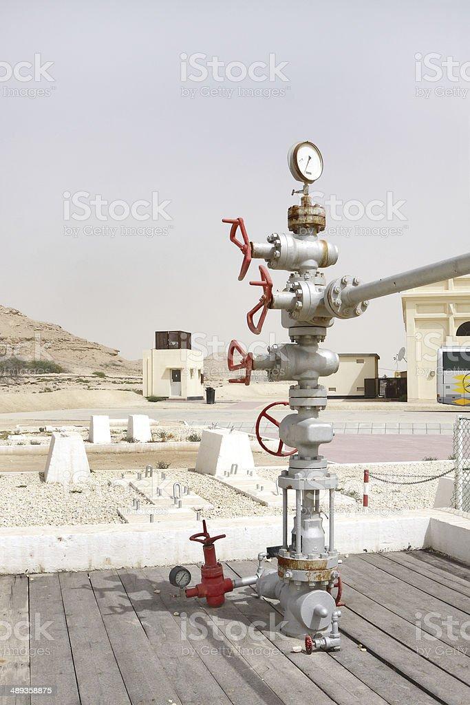 Albero Di Natale Petrolio.Testa Di Pozzo Gruppo Di Primo Pozzo Di Petrolio Golfo Persico