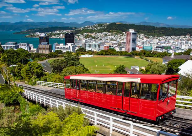 A Wellington Cable Car stock photo